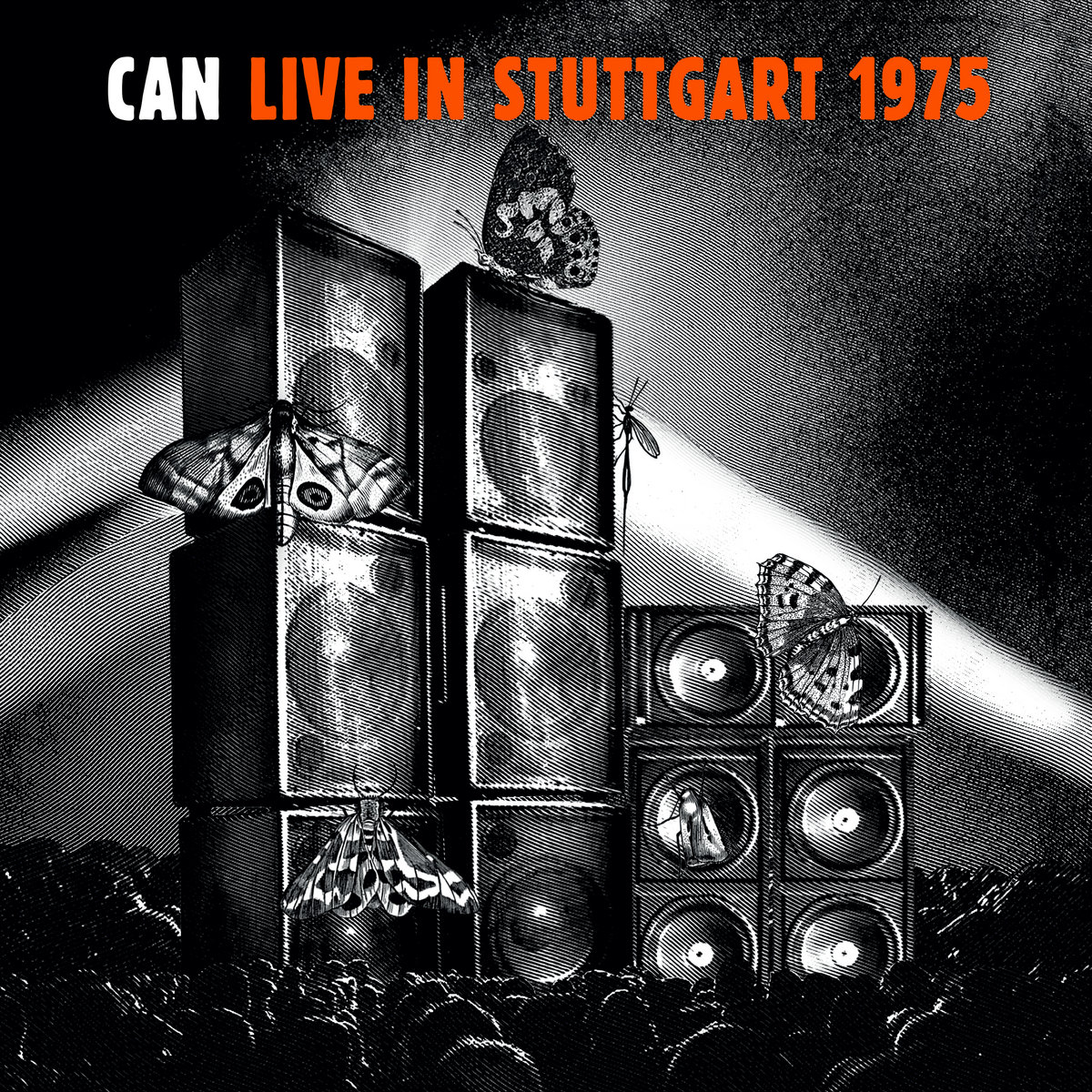 Can Live in Stuttgart 1975 cover image