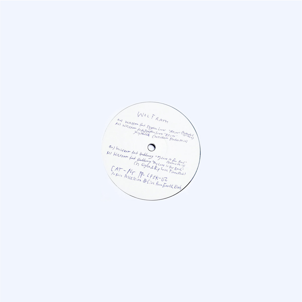 Wolfram My Love Is For Real Feat Haddaway Dance Mix Wolfram Public Possession