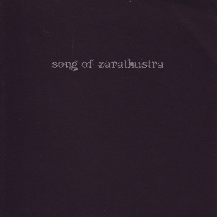 "songs of zarathustra - ""bote des zorns"""