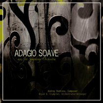 """Adagio Soave from """"Two Pieces for Viola & Piano"""" arr./orch. for Symphony Orchestra cover art"""