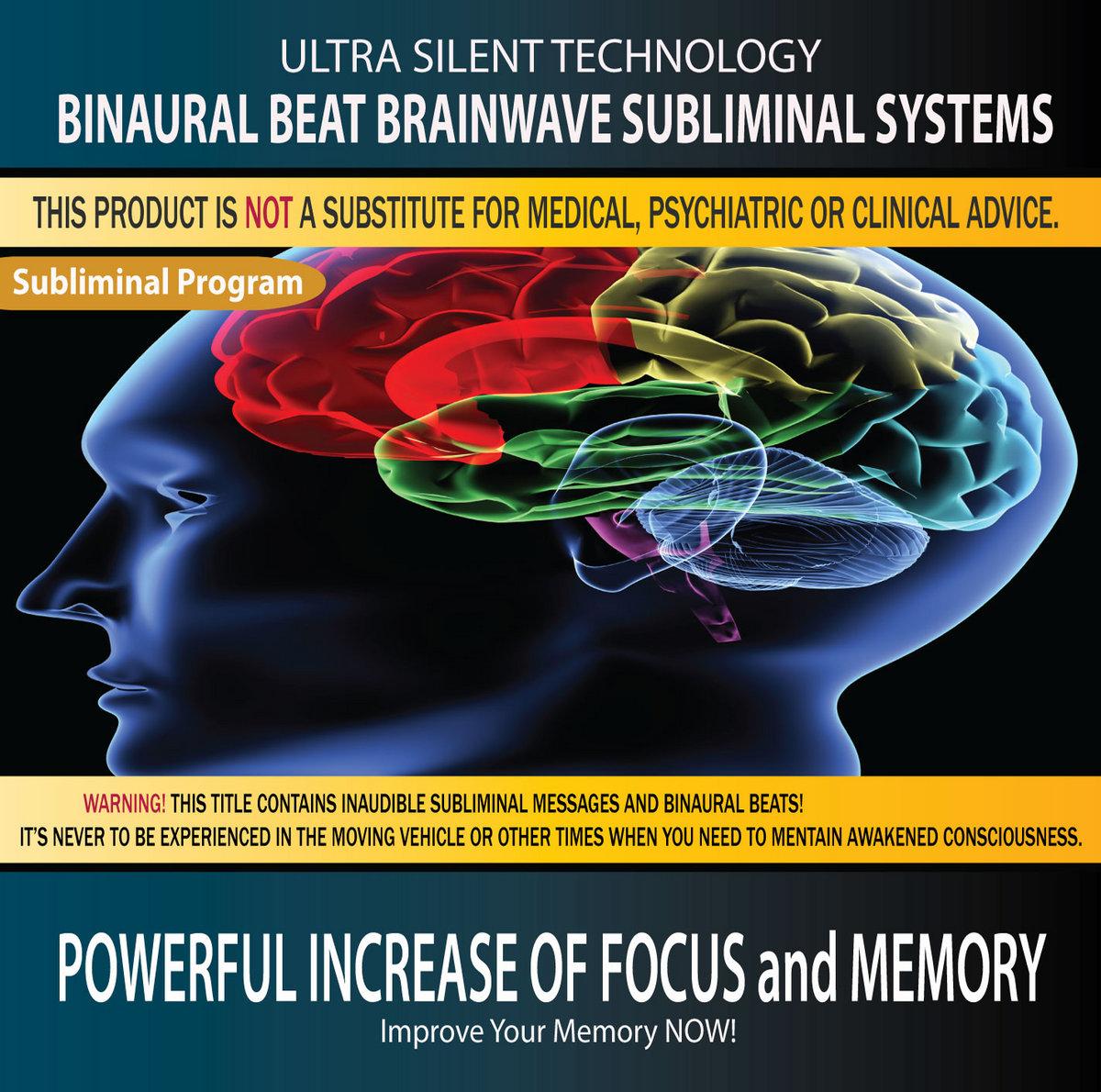Subliminal Powerful Increase of Focus and Memory   Binaural
