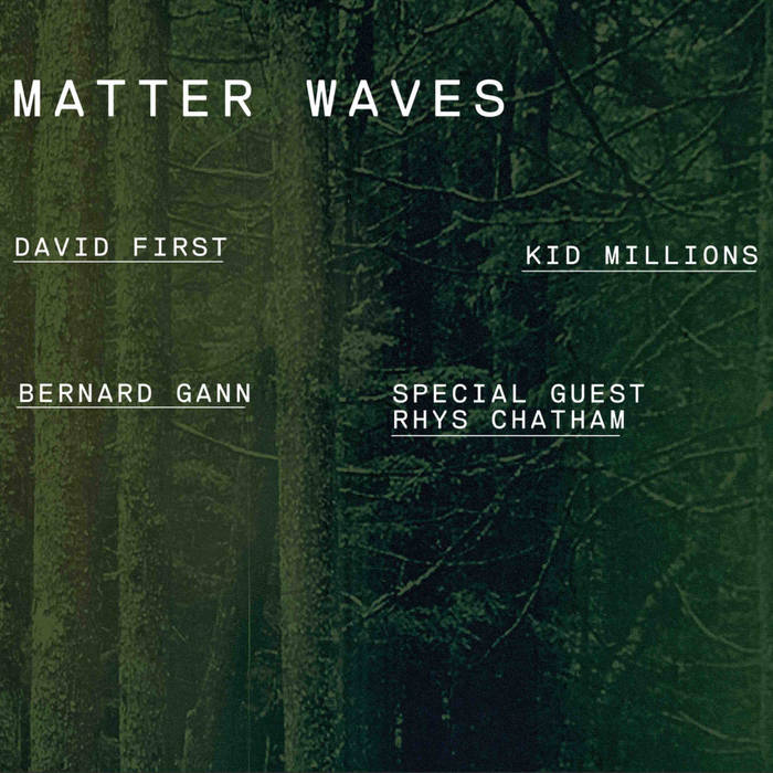 David First Matter Waves