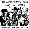 "100 Ausmuteants Fans Can't Be Wrong... 100,000,000 Bon Jovi Fans Can 7"" Cover Art"