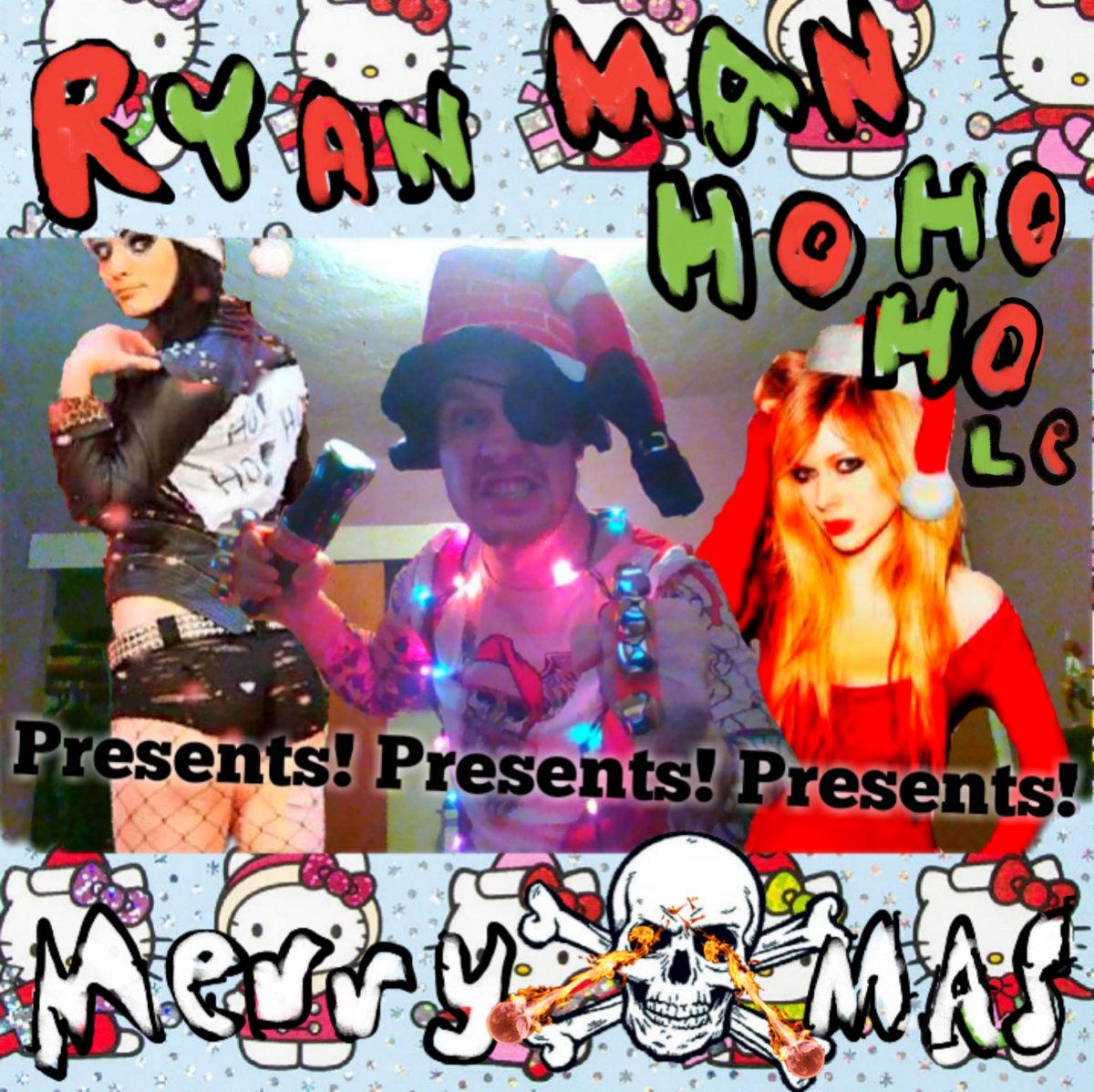 xmas everybody slade cover from ryan man ho ho hole presents presents presents merry mas by various artists - Slade Merry Christmas Everybody