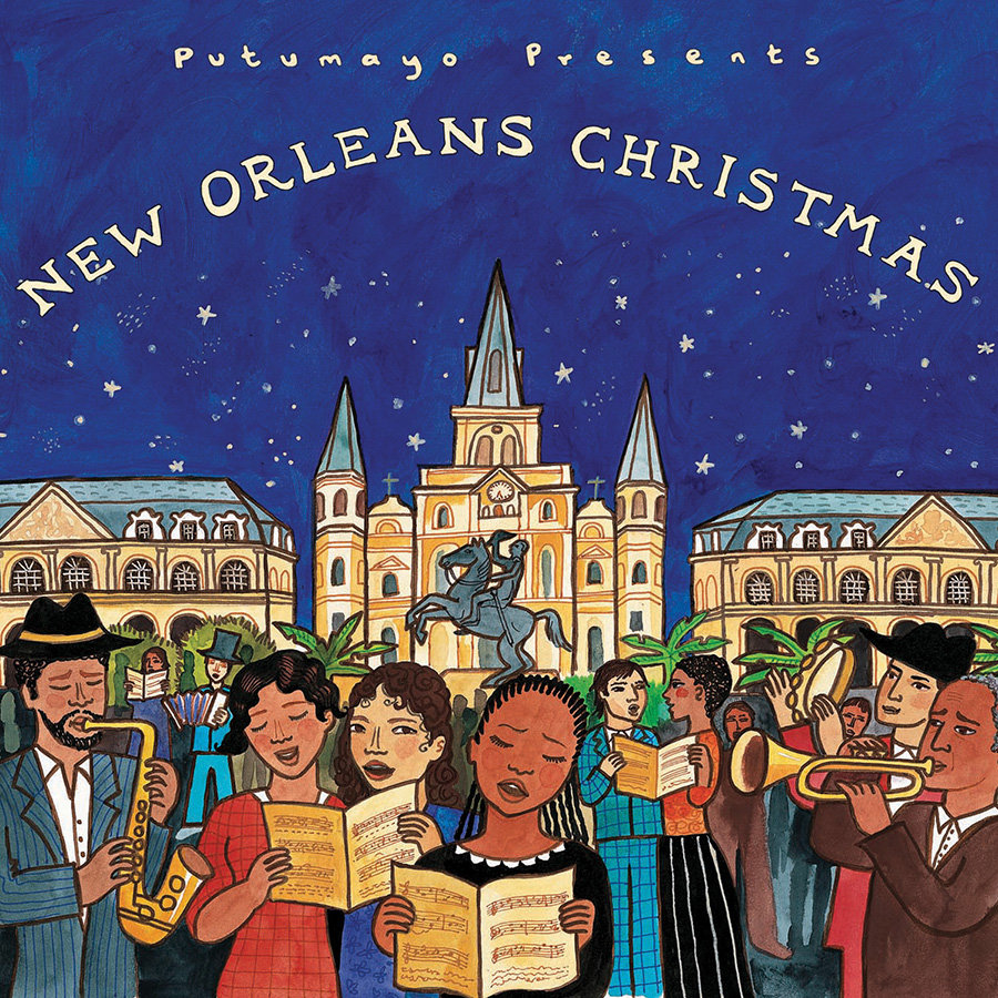 New Orleans Christmas.New Orleans Christmas Putumayo World Music