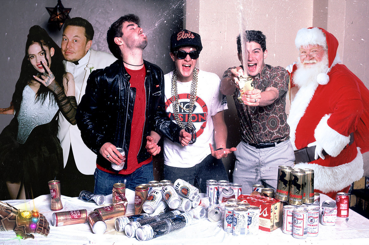Beastie Boys Christmas.Beastie Boys Christmas House Party Mama