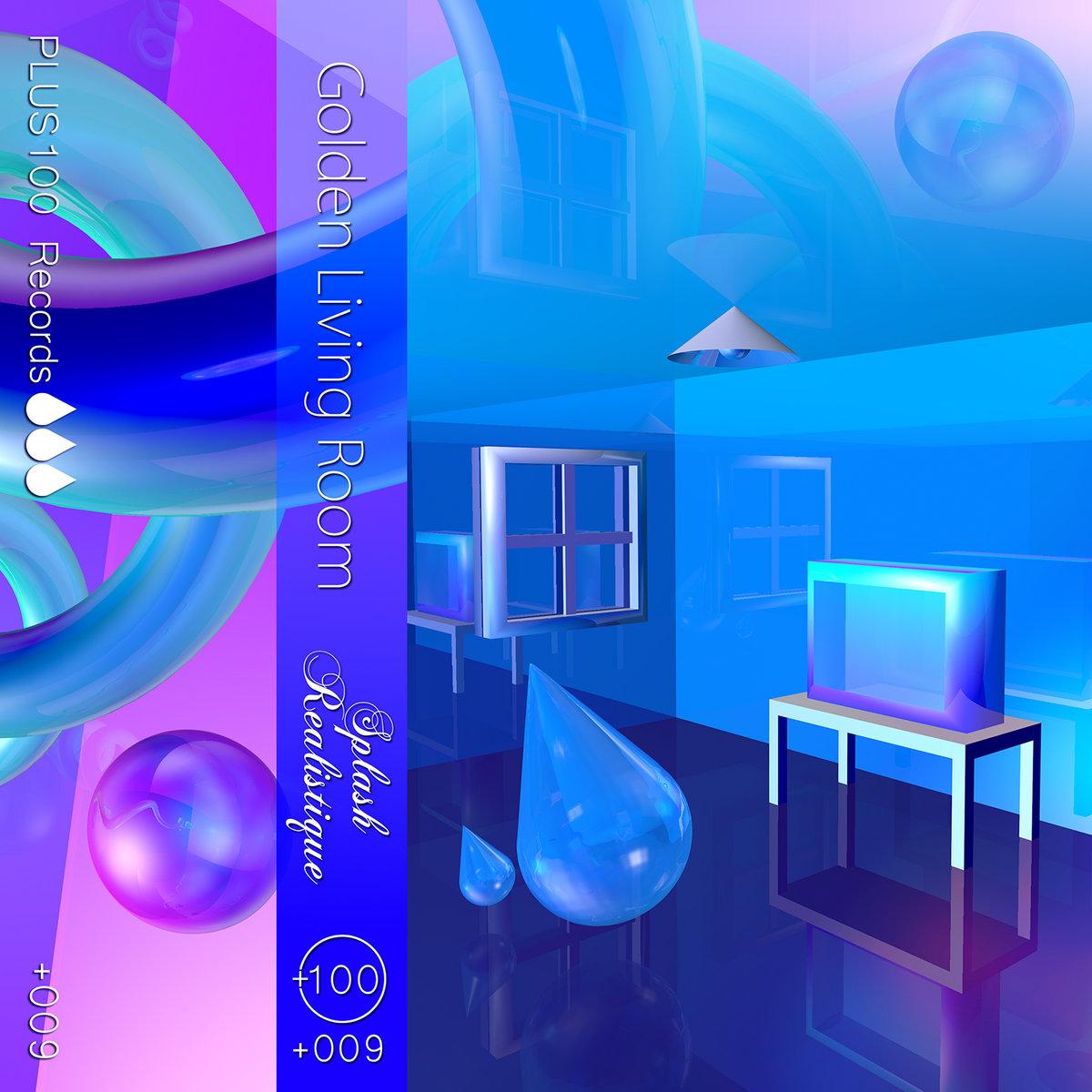 Splash Realistique PLUS Records - Golden living room