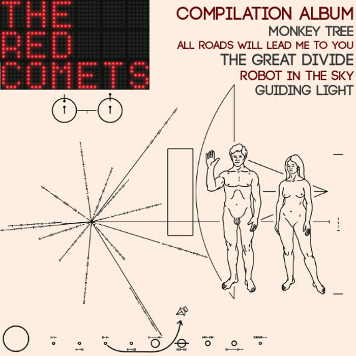 The Red Comets - New 2016 Album - Classic Rock / Indie Pop / Alternative / Americana Music cover art