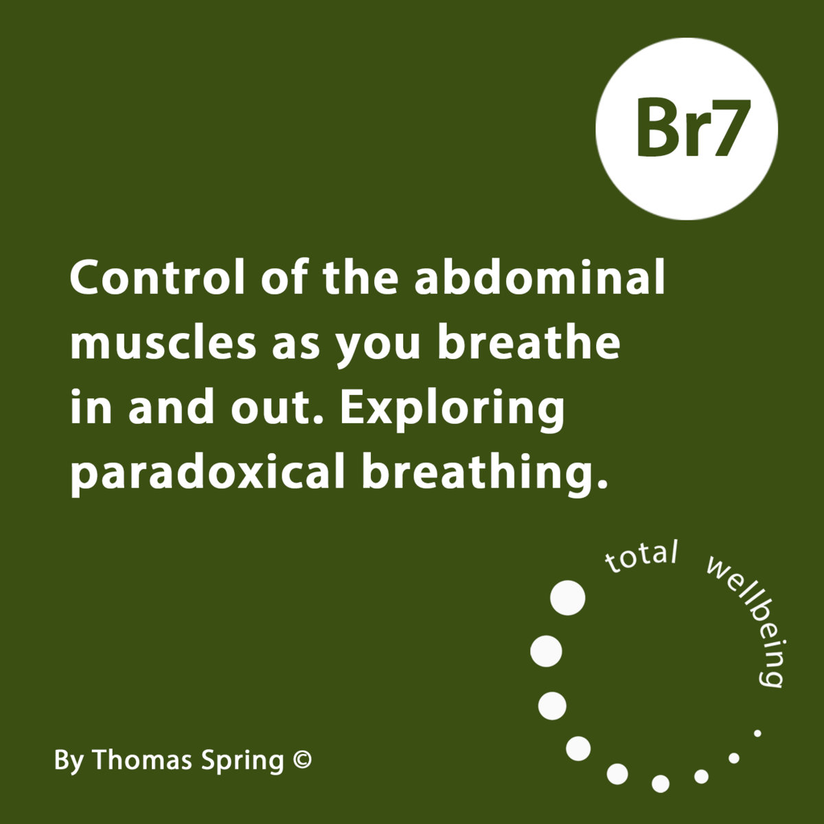 Br7 Control Of The Abdominal Muscles As You Breathe In And Out