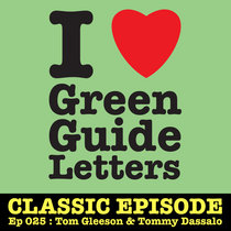 Ep 025 : Tom Gleeson & Tommy Dassalo love the 17/05/12 Letters cover art
