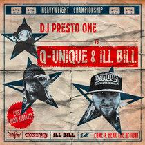 DJ Presto One Vs. Q-Unique & ILL BILL cover art