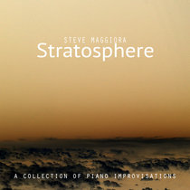 Stratosphere: A Collection of Piano Improvisations cover art