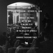 A Live Recording - October 21, 2016 cover art