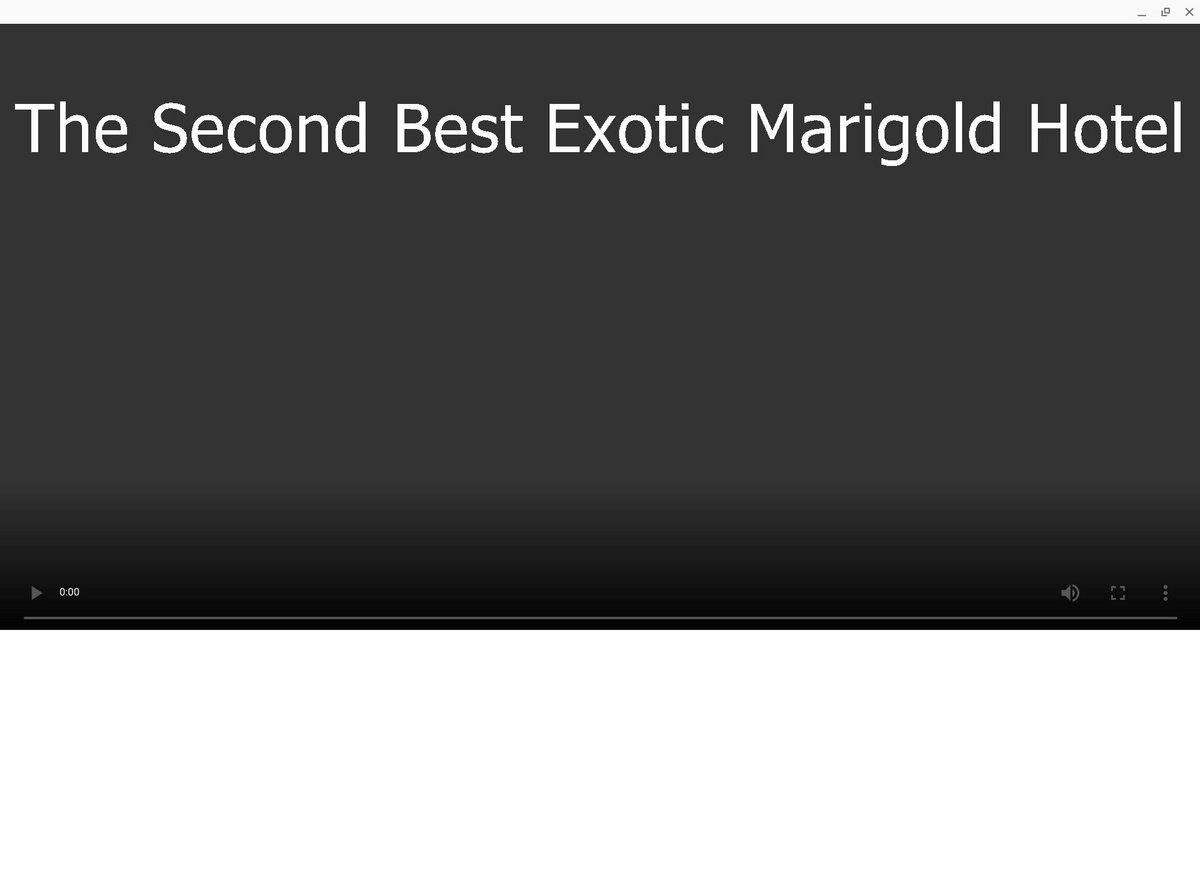 ภาพยนตร ฟร 2015 The Second Best Exotic Marigold Hotel โดย Netflix Teheasymvepho