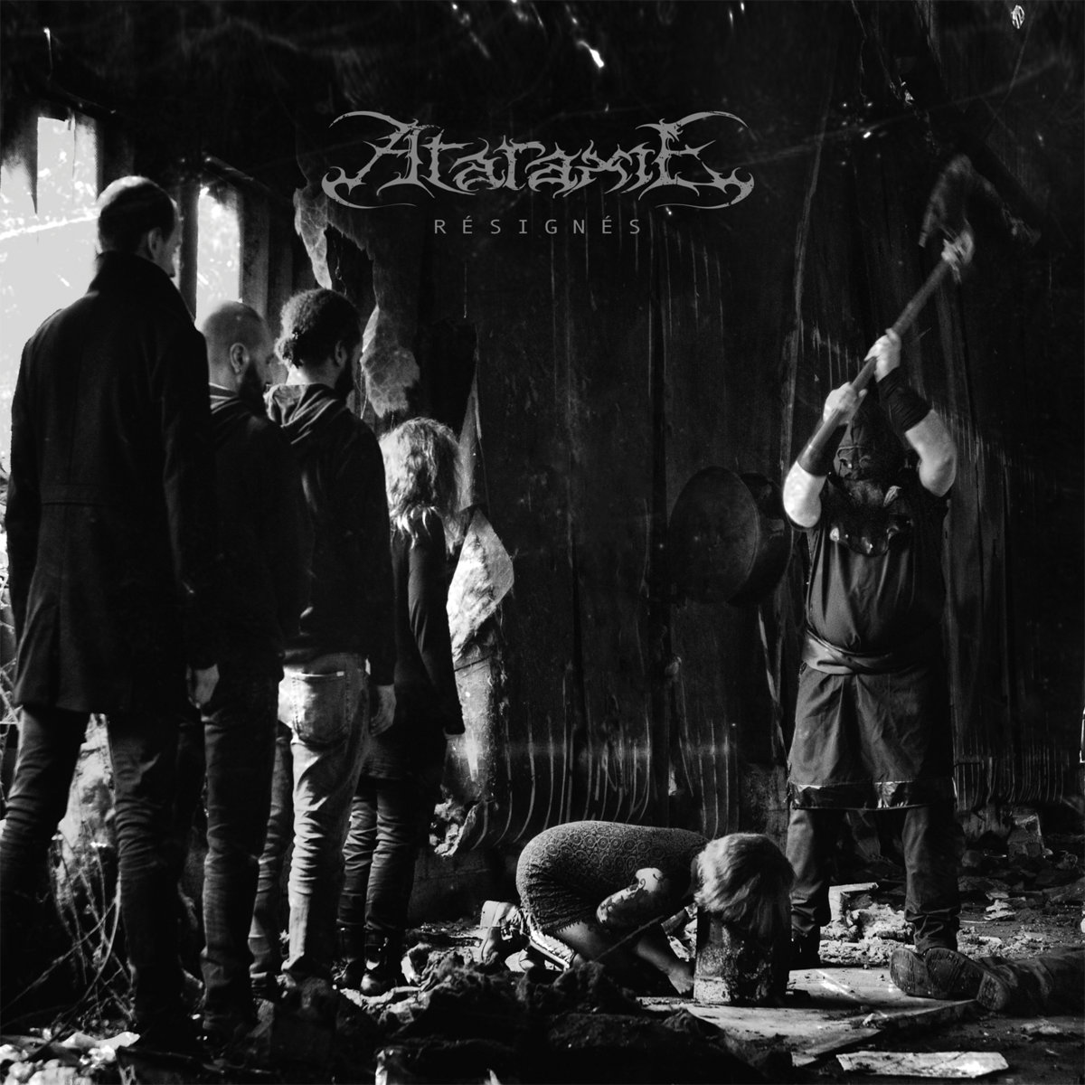 ataraxie résignés extreme doom metal français