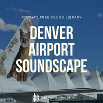 Denver International Airport Sound Library + Aircraft Take Off &  Train Interior Sounds cover art