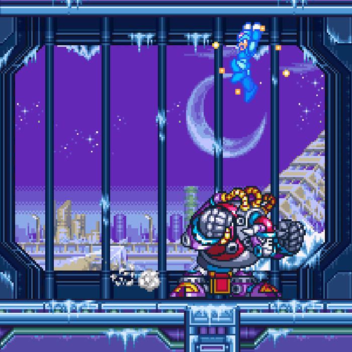 Blizzard Buffalo (Mega Man X3)   OverdrvOstrich