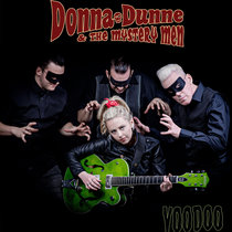 "Donna Dunne & The Mystery Men ""Voodoo"" cover art"