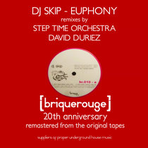 [BR010] : Dj Skip - Euphony (Step Time Orchestra & David Duriez Remixes) [2019 Remastered] cover art