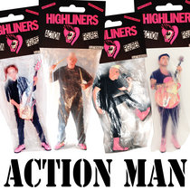 """The Highliners """"Action Man"""" pre order cover art"""