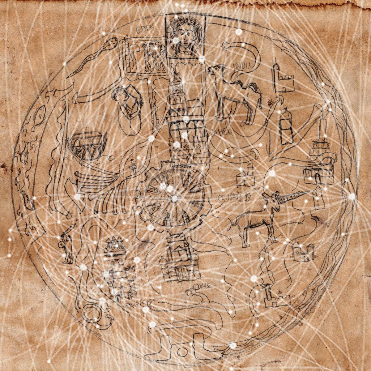 Mappa Mundi Drøne - Map pa