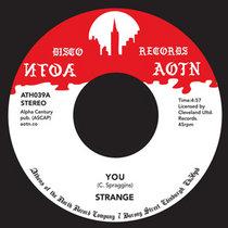 Strange - You / Space V cover art