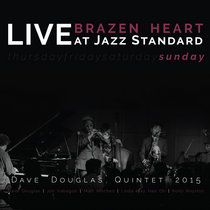 Brazen Heart Live at Jazz Standard - Sunday cover art
