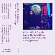 Carlos Niño & Friends - Live at The World Stage cover art