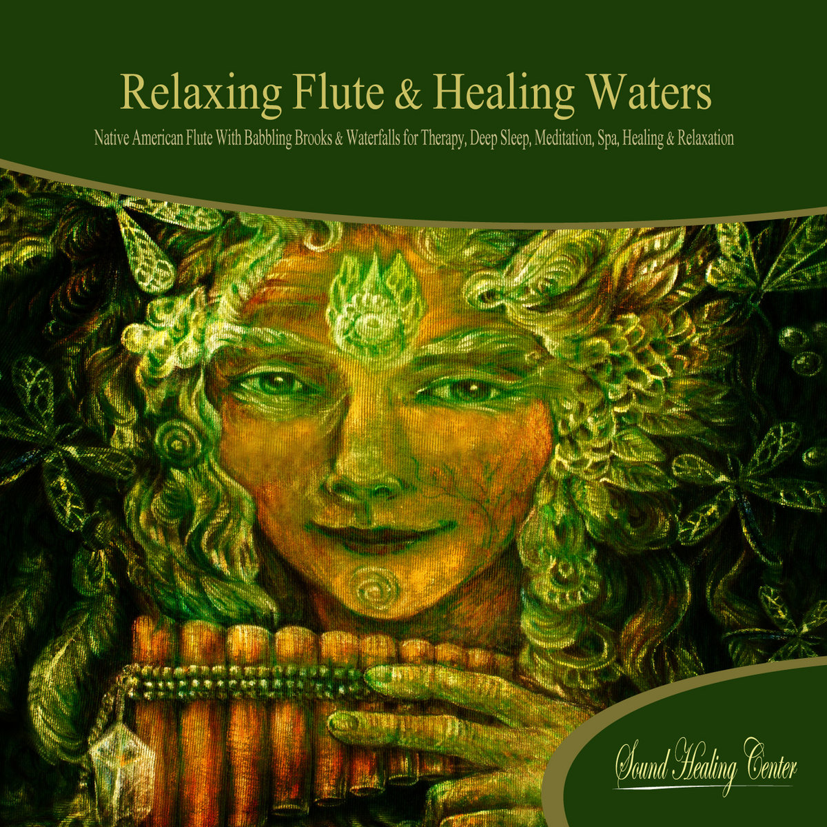 Relaxing Flute & Healing Waters (Native American Flute with Babbling