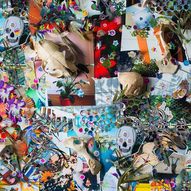 floral print main photo