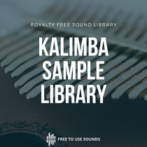 Royalty Free Kalimba Sound Effects Sample Pack cover art