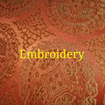 Embroidery cover art
