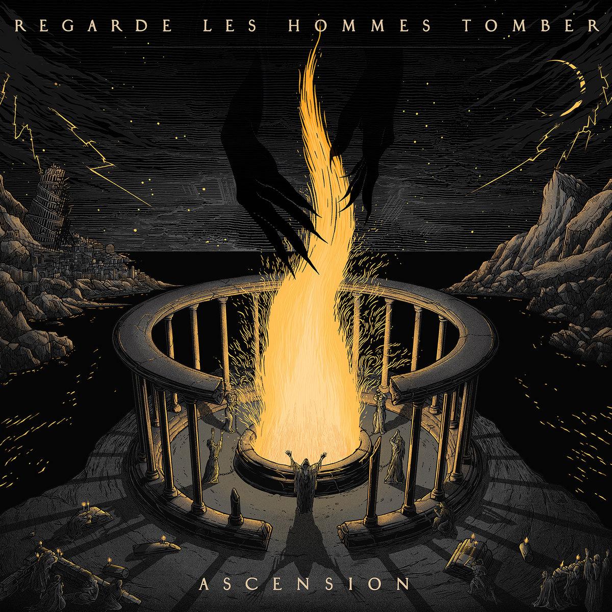 Metal View: REGARDE LES HOMMES TOMBER-ASCENSION (Album Review)