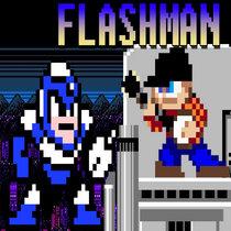 Mega Man 2 - Flash Man cover art
