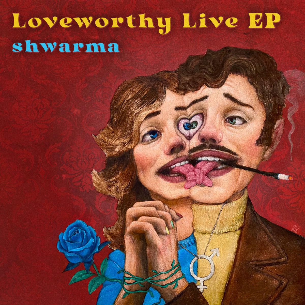 Loveworthy Live EP album cover