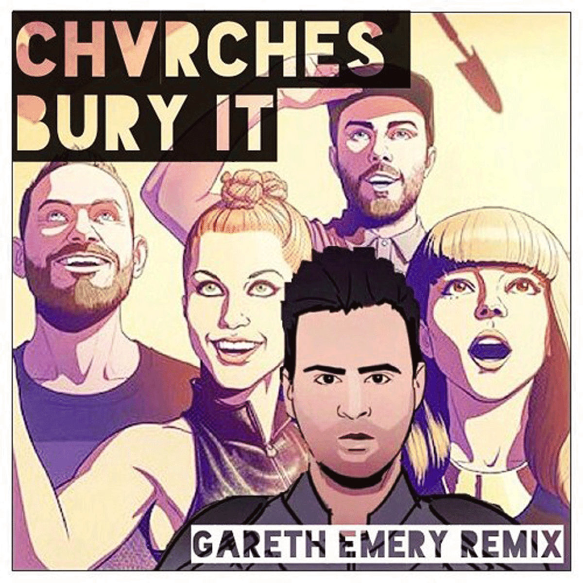 CHVRCHES feat  Hayley Williams - Bury It (Gareth Emery Remix