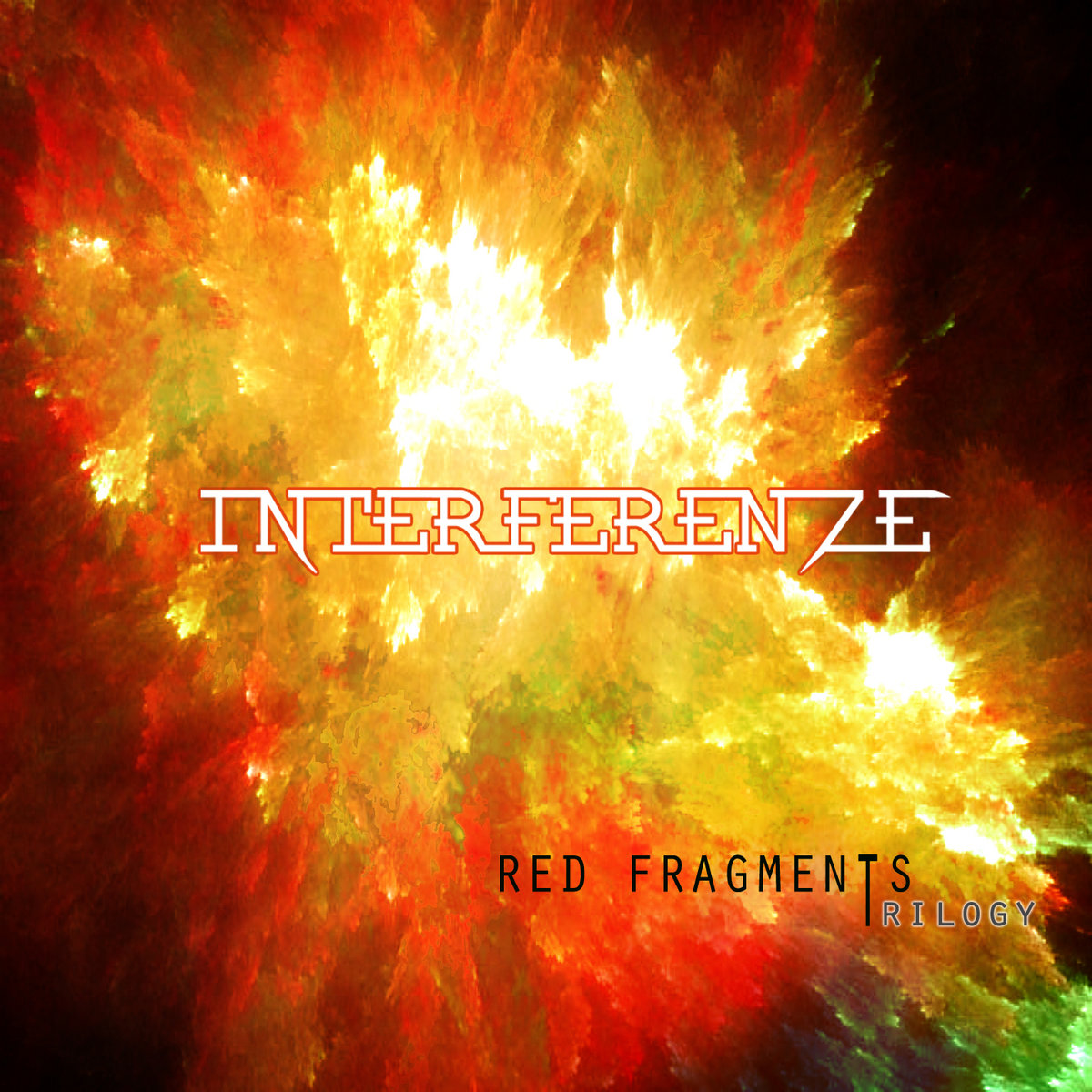 from Trilogy: Red Fragments by Interferenze