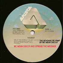 KASHIF - Help Yourself To My Love (The Revenge´s Re-Pimp by WeMeanDisco!!)) cover art