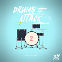 Drums to Attack, Vol. 2 cover art