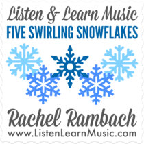 Five Swirling Snowflakes cover art