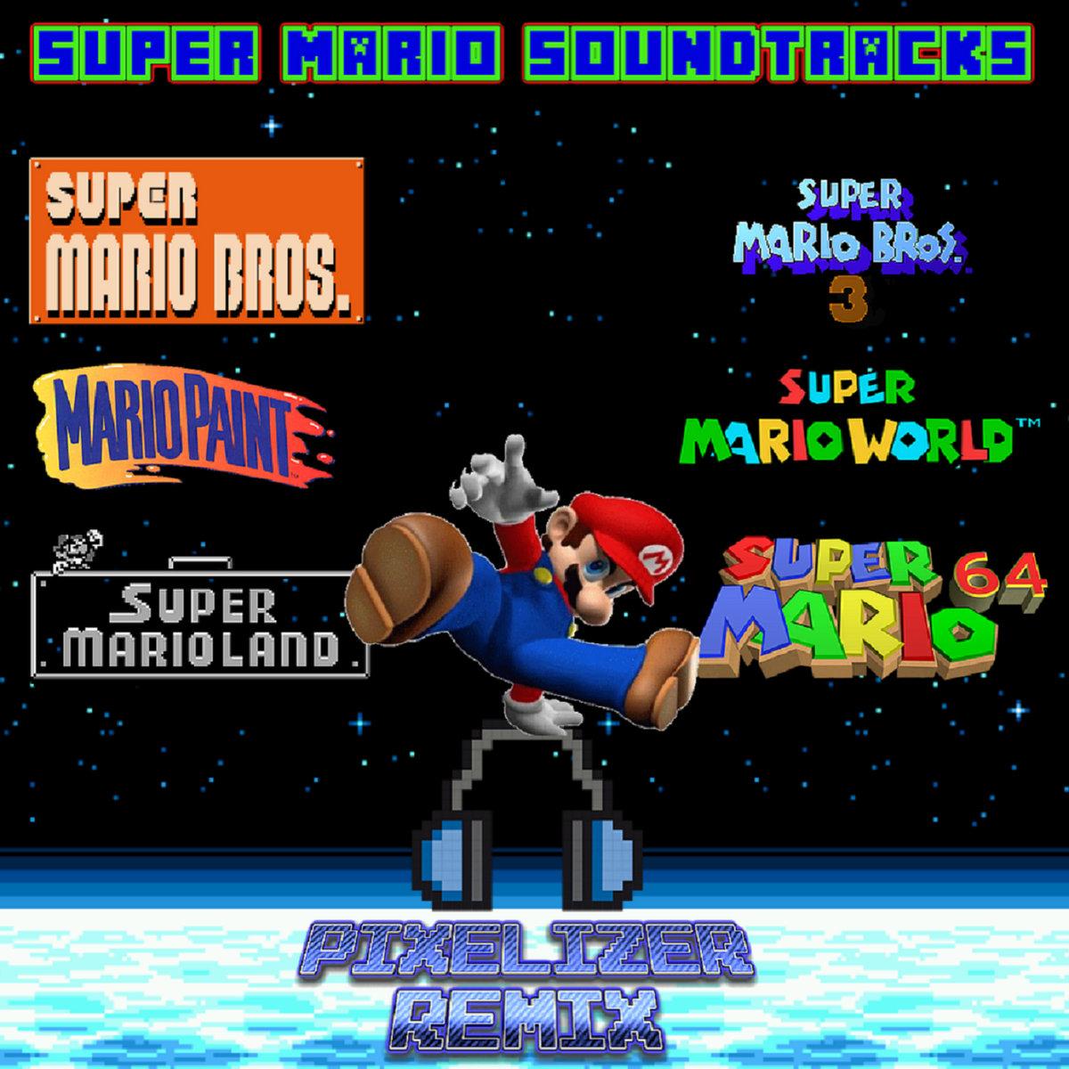 Super Mario Bros - Castle - PIXELIZER REMIX | Pixelizer