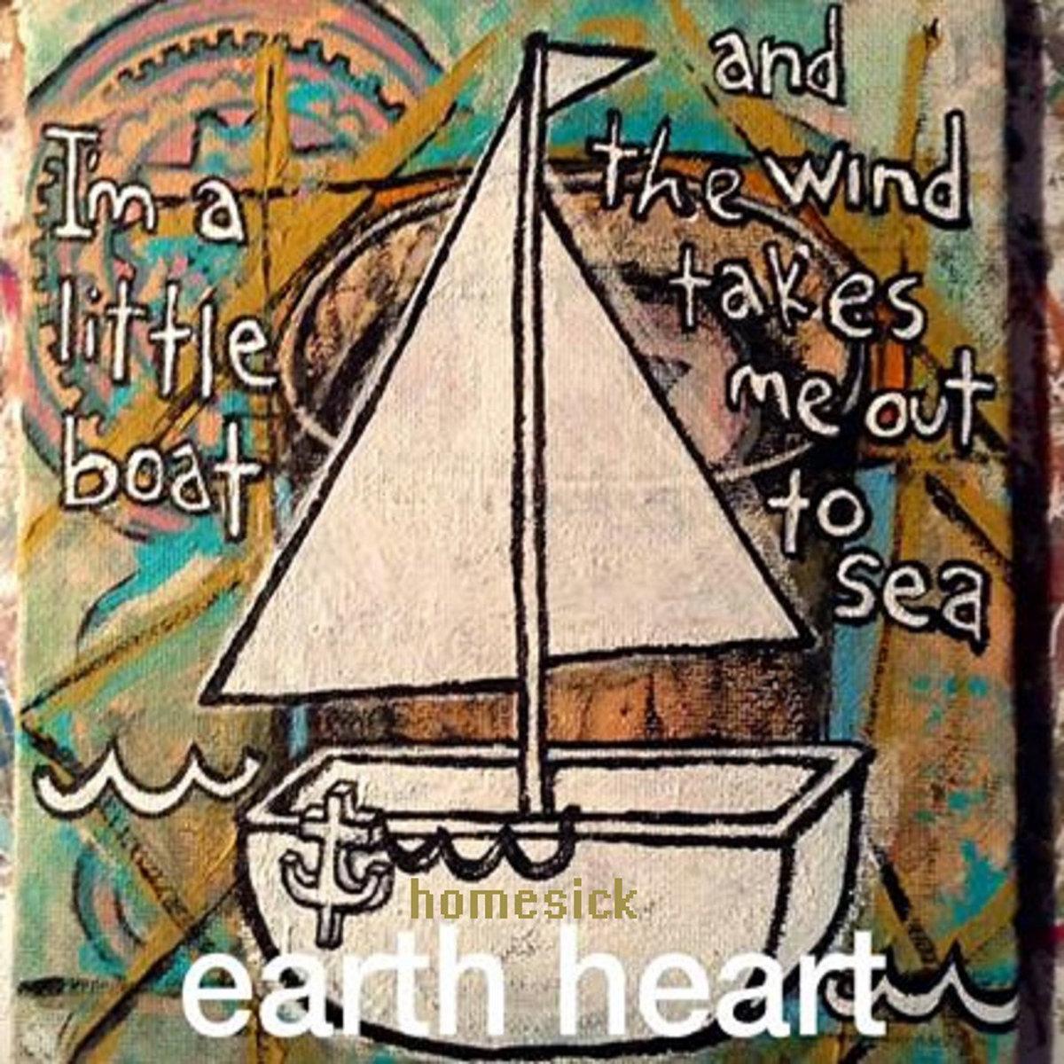 homesick single earth heart