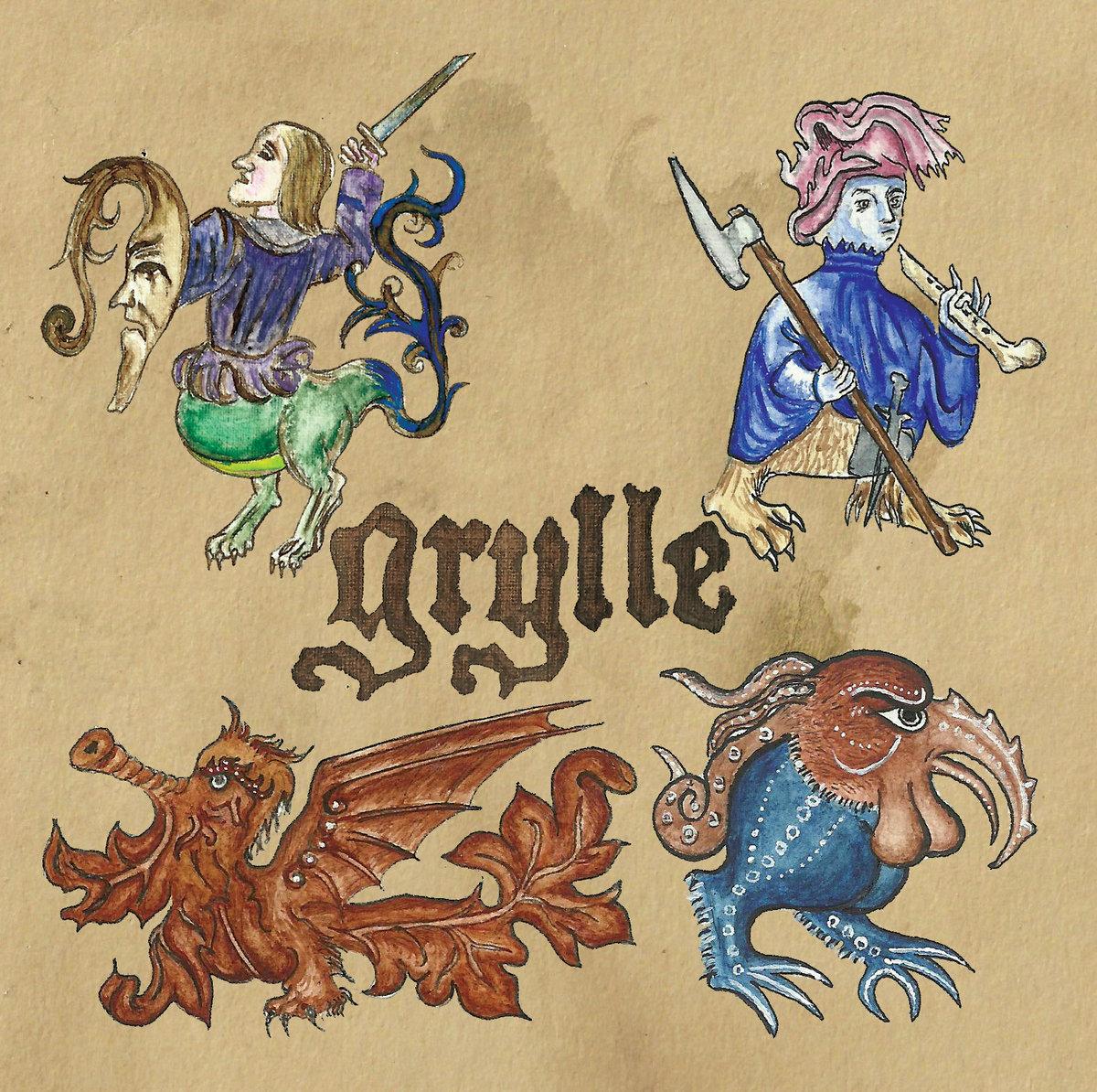 grylle mondes vermeils black metal medieval hyvermor interview le scribe du rock