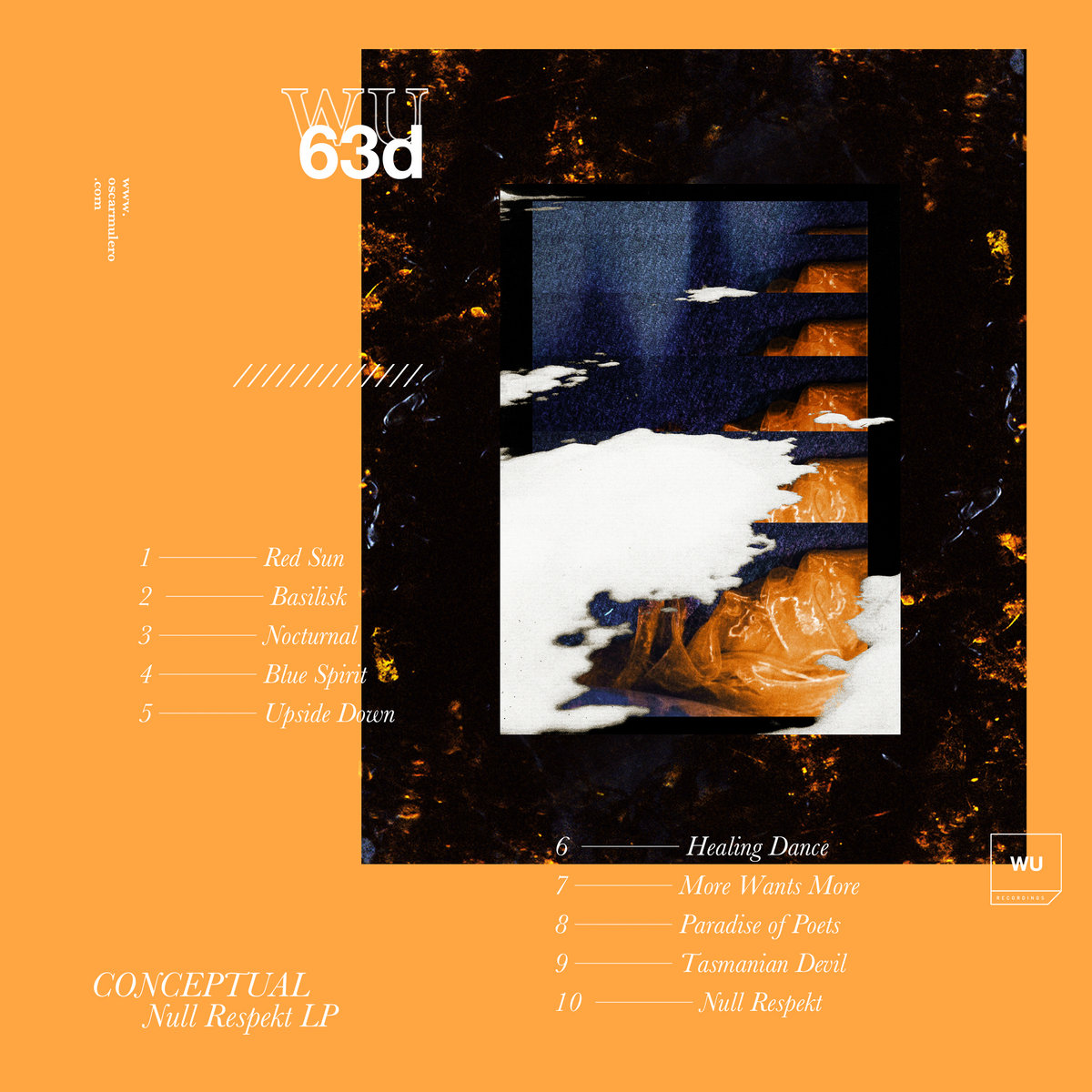 Null Respekt Lp Wu63d Conceptual Warm Up Recordings