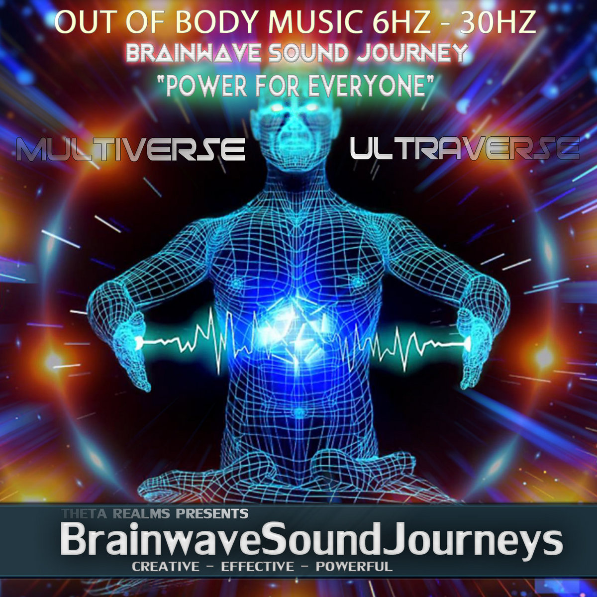 VERY INTENSE OUT OF BODY MUSIC!!! 6 HZ Binaural Beats ▷ MULTIVERSE