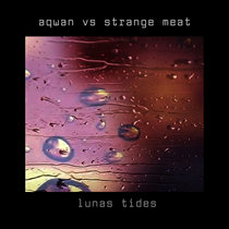luna tides - strange meat vs aqwan cover art