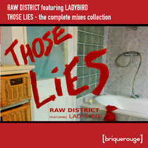 [BR101] : Raw District featuring Ladybird -  Those Lies (The Complete Remixes Collection) - [2020 Remastered Version] cover art
