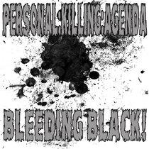 BLEEDING BLACK! EP cover art