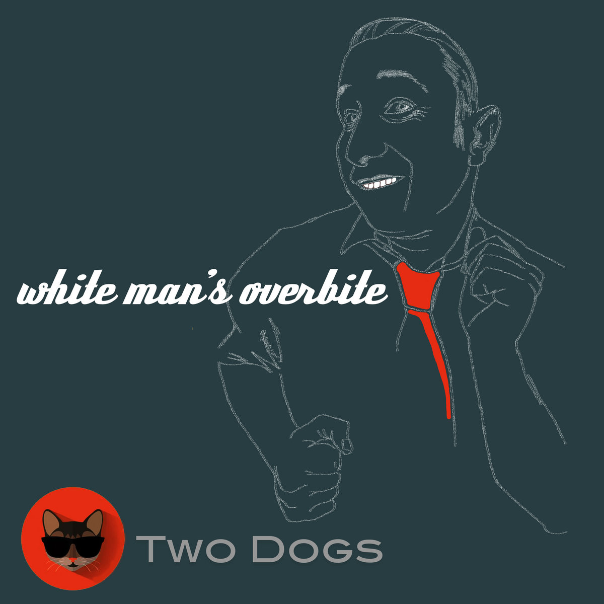 white man s overbite two dogs