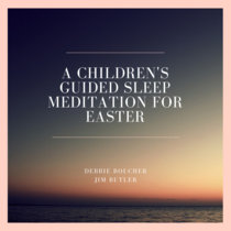 a children's guided sleep meditation for easter cover art